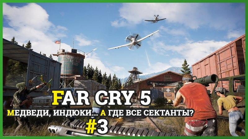 Медведи, индюки... а где все сектанты?   Прохождение FAR CRY 5 3