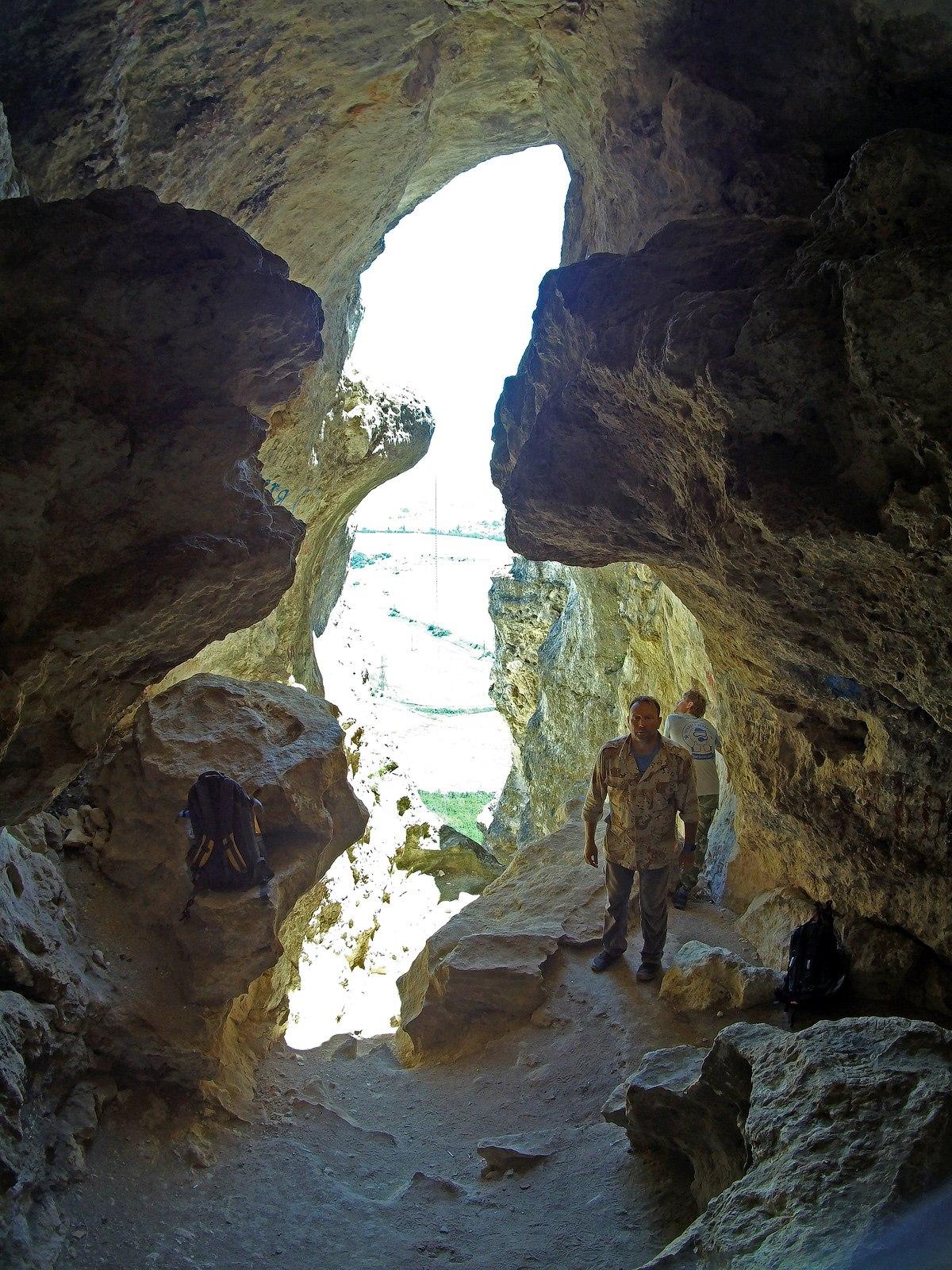 Севастопольские дайверы в Змеиной пещере
