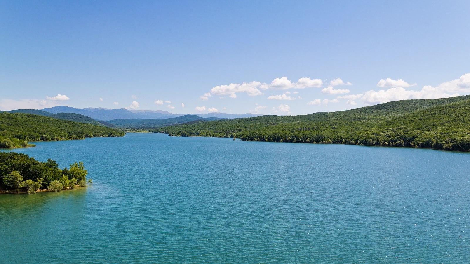 Партизанское водохранилище, Крым