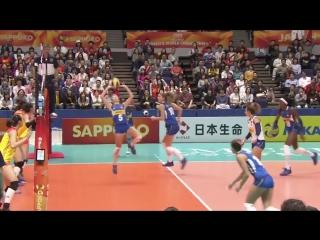 ITALY vs CHINA FIVB Women World Championship 2018