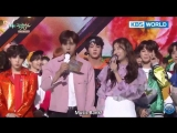 RUS SUB25.05.18 BTS - 1st Place + Ending @ Music Bank