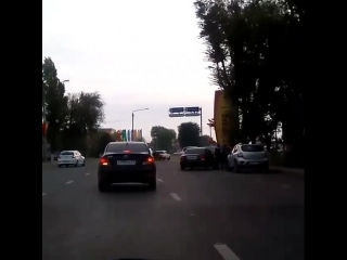 "ДТП на Шолохова, кольцо возле рынка ""Алмаз"". 16 сентября."