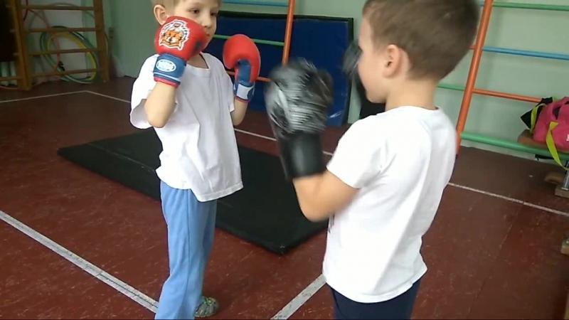 Тренировка младшей группы
