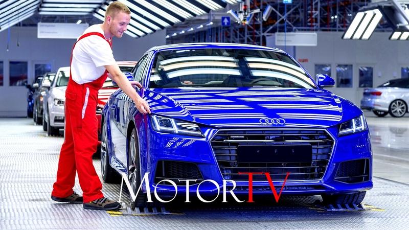 CAR FACTORY NEW 2017 AUDI TT RS PRODUCTION l Györ (Hungary) Plant