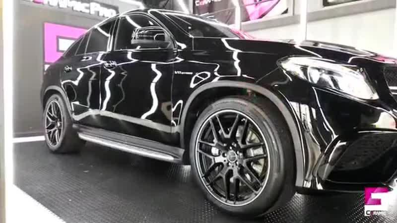 Mercedes в жидкой керамике Ceramic Pro