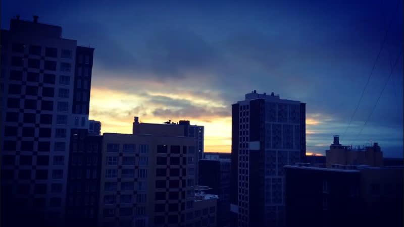 Зимнее утро. Питер