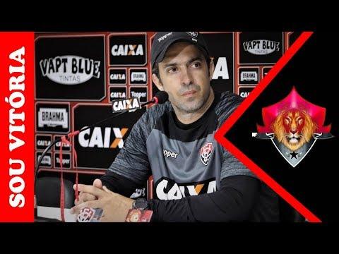 Joao Burse explica o empate entre EC Vitória e Cruzeiro