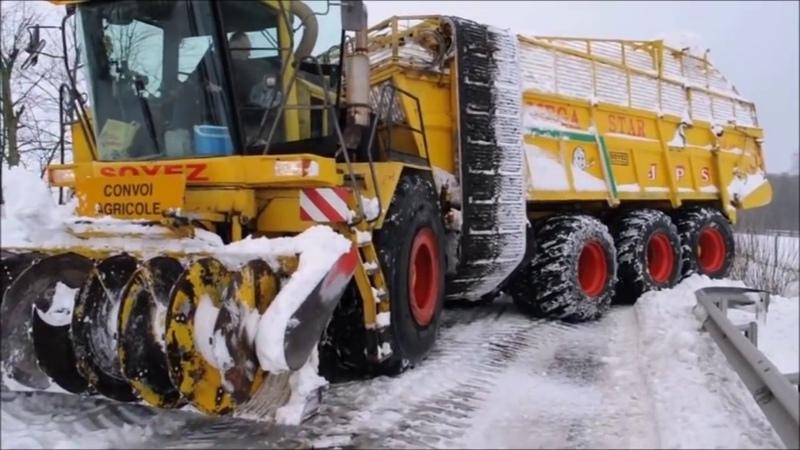 5 В 1 Невероятно Удивительные снегоуборочные Комбайны и Машины !