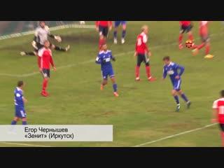 Егор Чернышев («Зенит» Иркутск) – гол в ворота «Читы»