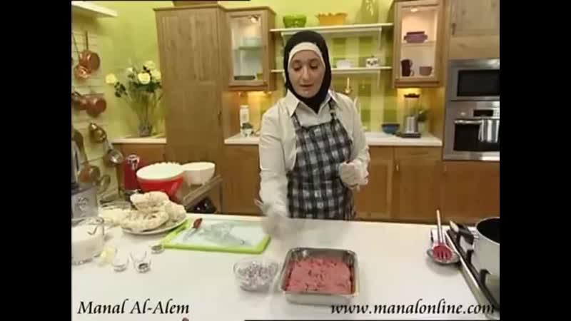 طريقة اللحم المفروم المعصج - مطبخ منال العالم(360P).mp4