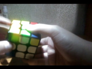 Обучение по сборке кубика Рубика.(Часть 2)Первый слой