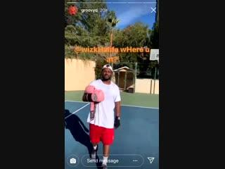 ScHoolboy Q вызвал Wiz Khalifa на поединок