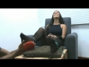 Jenifer in foot tickling torture surprise