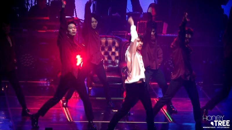 181104 NAMWOOHYUN 1st solo concert 식목일 - I Swear 우현 FOCUS