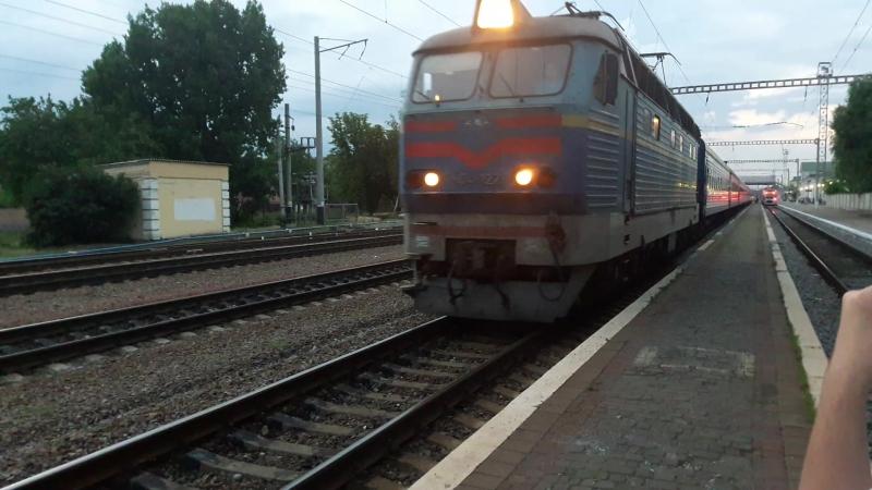 Чс4-122 з потягом №15 Владислав Зубенко Харків-Рахів 21-06 відправлення