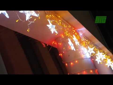 Зимняя иллюминация Гродненских тепловых сетей