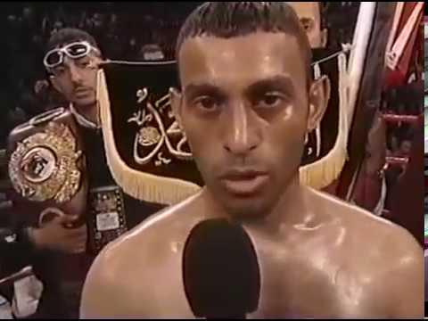 Naseem Hamed Shahada in Vegas - 7 Apr 2001