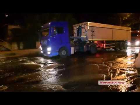 Видео Новости-N: В Николаеве фекальная река течет прямо в лиман