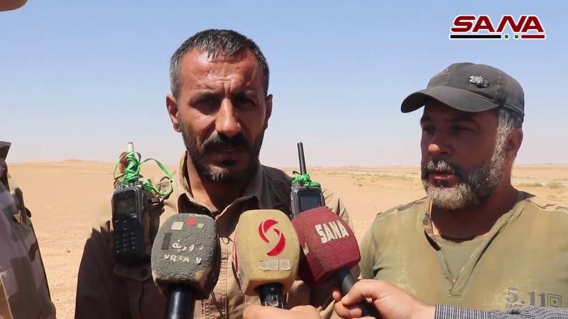 Армии освобождают 1200 квадратных километров в пригороде Дейр эль Зор от террористических групп