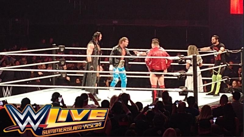 Хаус-шоу RAW в Филадельфии (07.07.18)