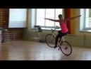 Шикарное выступление на велосипеде