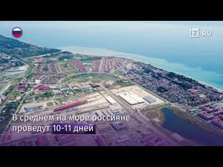 Рейтинг популярных курортов России