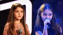 Anisa(10) - The Voice Kids 2018   INCREDIBLE Blind Auditions Battle   Traffic Lights Wannabe