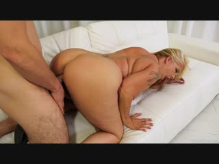 Joclyn Stone [MILF, Lingerie, Blonde, Tattoo, Big Tits, Hairy Pussy, Big Cock, Blowjob, Deep Throat, Doggystyle, Gonzo, Hardcore