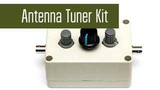 Antenna Tuner Kit - QRP тюнер из китайского набора. Сборка, проверка в полях. Радиосвязь на КВ.