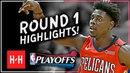 Jrue Holiday Full ROUND 1 Highlights vs Portland Trail Blazers All GAMES - 2018 Playoffs