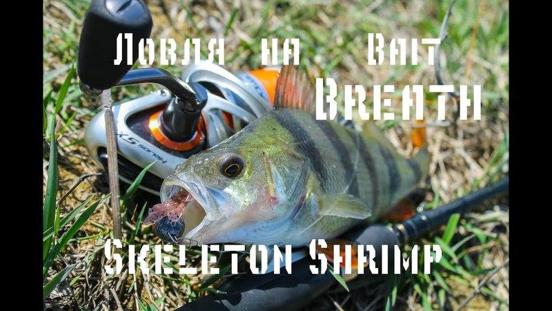 Рыбалка в сильный ветер. Ловля на Bait Breath Skeleton Shrimp