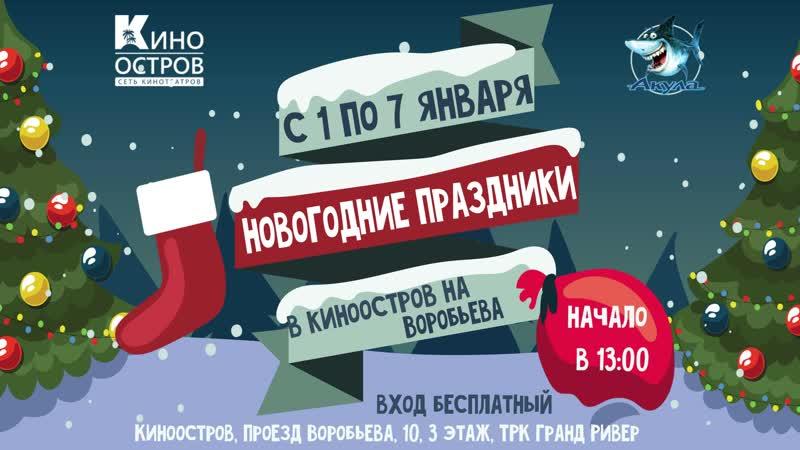 Новогодние праздники на Воробьева