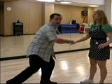 How To Dance The Lindy Hop Peek-a-boo Charleston Kick in the Lindy Hop