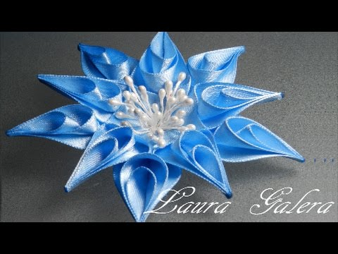 Flor estrella tutorial !! Star flower Звездный цветок Flor da estrela artesanal