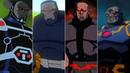 Эволюция Дарксайда в мультфильмах и кино