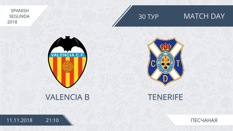 AFL18. Spain. Segunda. Day 30. Valencia B - Tenerife.
