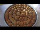 Готовим турецкую пахлаву дома. Рецепт теста для пахлавы. Турецкая сладость пахлава