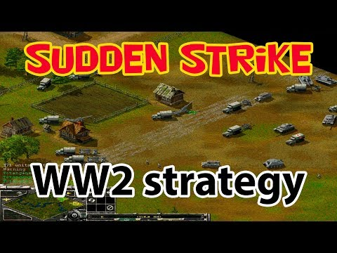 WW2 strategy SuddenStrike forever multiplayer 2 vs 2. No commentary