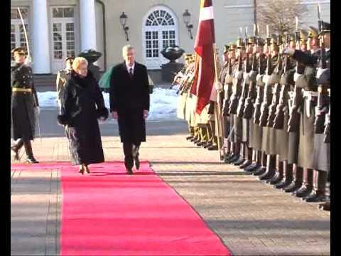 Latvijos Prezidento V. Zatlero valstybinis vizitas