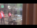 Появилось видео схода с рельсов цистерн с мазутом в Ярославле
