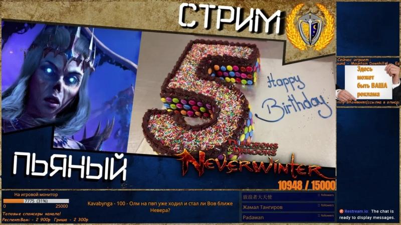 С Днём рождения Neverwinter let'splay a game music box