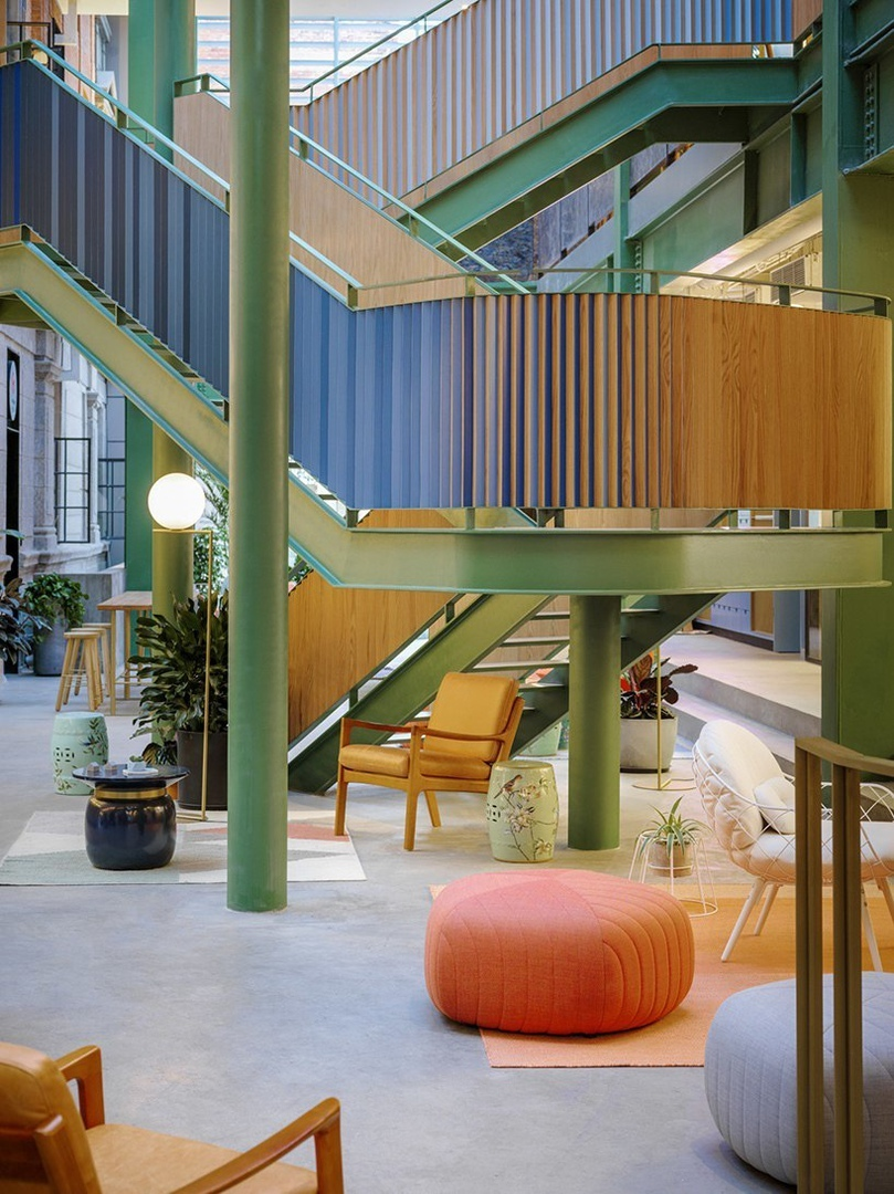 linehouse transforms former opium factory into WeWork office hub in china