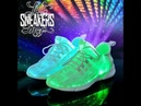 Презентация новой летней модели светящихся кроссовок от ledsneakersshop