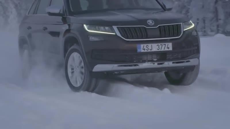 SKODA KODIAQ SCOUT - 4х4 SUV - Шкода Кодиак 4х4 - Полный привод Зимой!