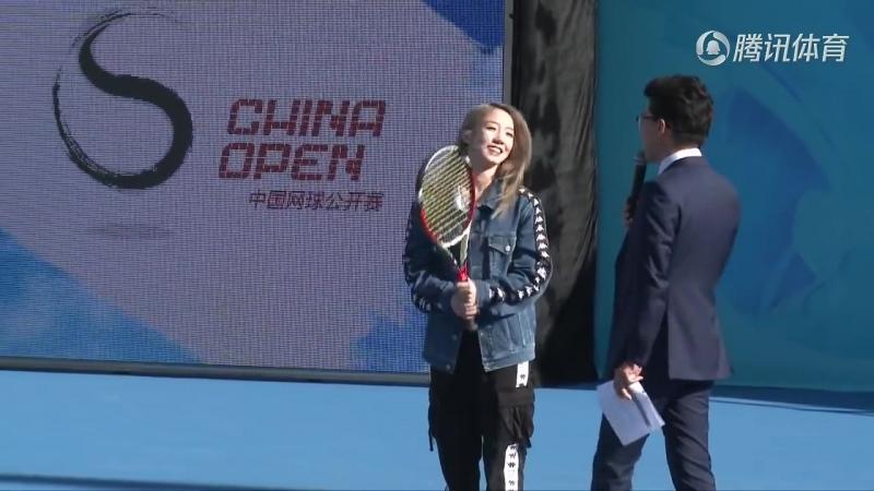 [NEWS] 180929 WTA China Open @ Meiqi
