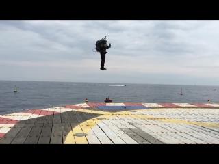 Cool! JetPack JB10 Flight Летающий реактивный ранец - реальный полет