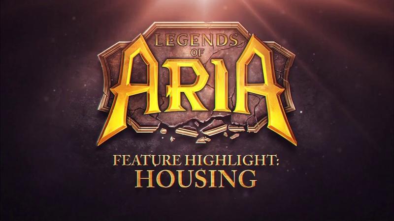 Legends of Aria Feature Highlight - Housing