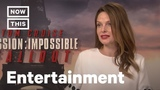 'Mission Impossible' Star Rebecca Ferguson On Women In Film NowThis