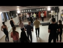 Bachata - урок (Alexandra Yatsenko) SOCIAL★DANCE Танцы в Новосибирске!