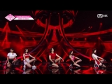 PRODUCE 48 Ariana Grande - Side to Side performance (full fancam)